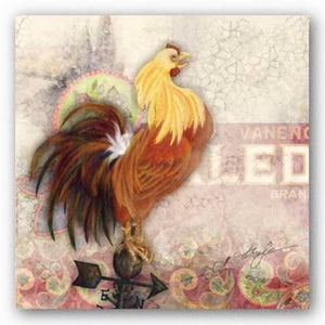 Morning Rooster by Alma Lee