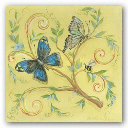 Butterfly Yellow by Kate McRostie