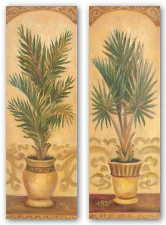 Tuscan Palm Set by Shari White