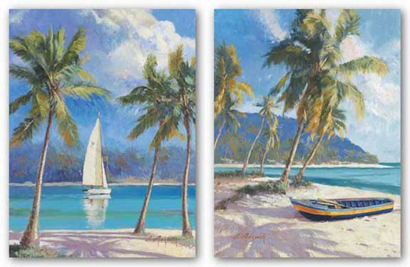 Island Dream and Island Breeze Set by Nenad Mirkovich