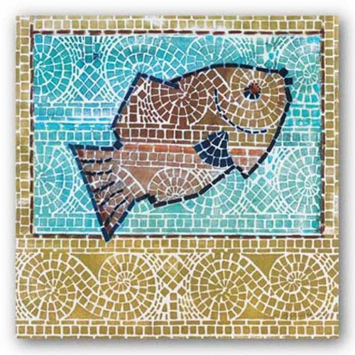 Mosaic Fish by Susan Gillette