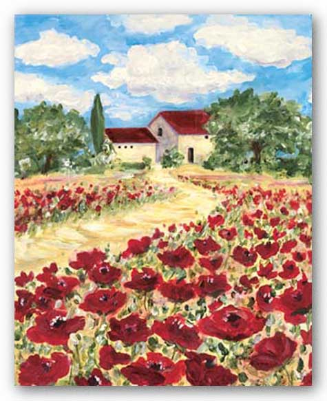 Poppy Field #2 by Antonette Bowman
