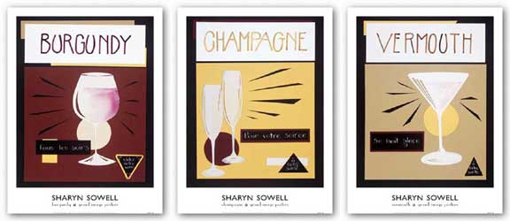 Wine Set by Sharyn Sowell