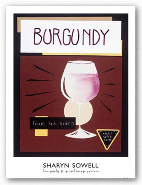 Burgundy by Sharyn Sowell