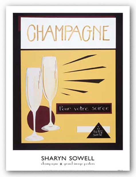 Champagne by Sharyn Sowell