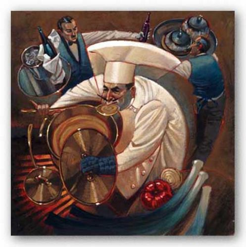 Chefs in Motion II by Dylan O'Connor