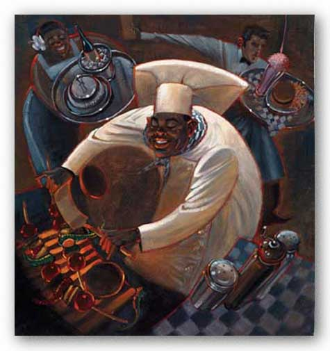 Chefs in Motion IV by Dylan O'Connor