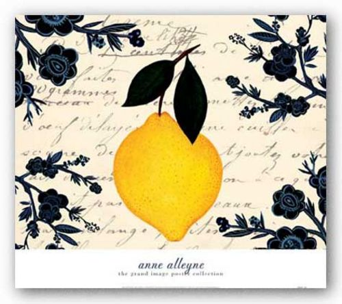 Citron Botanical by Anne Alleyne
