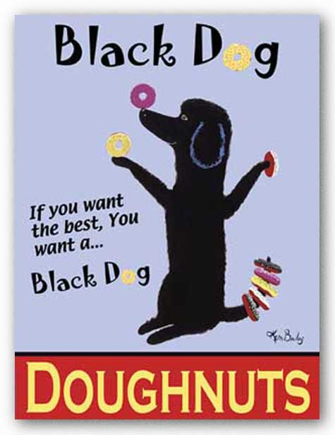 Black Dog Doughnuts by Ken Bailey