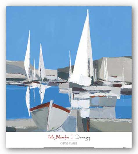 Voile Blanches I by Demagny