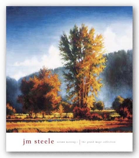 Autumn Morning I  by J.M. Steele