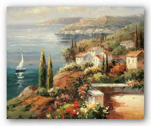 Mediterranean Vista by Peter Bell