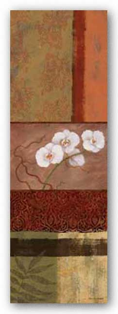 Orchid Tapestry I by Lisa Ven Vertloh
