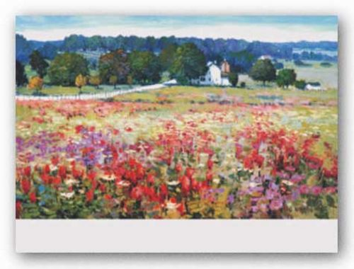 Across The Field by Kent Wallis