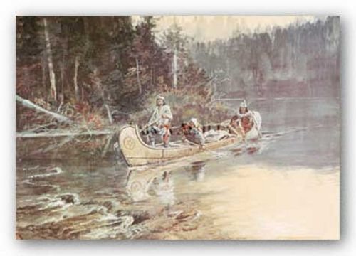 On The Flathead by Charles M. Russell