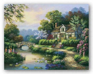 Swan Cottage II by Sung Kim