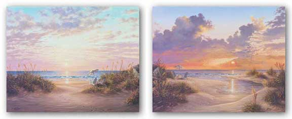 Paradise Sunset and Paradise Dawn Set by Klaus Strubel