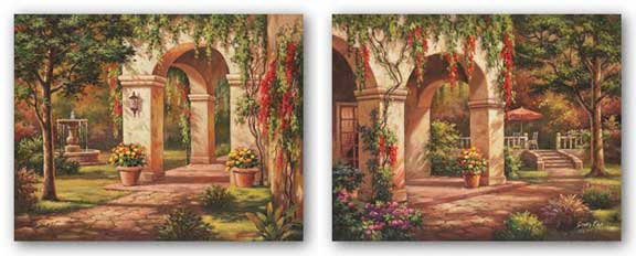 Arch Courtyard Set by Sung Kim