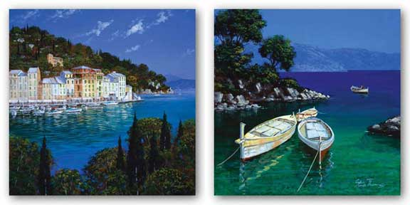Boats and Portofino Set by Steve Thoms