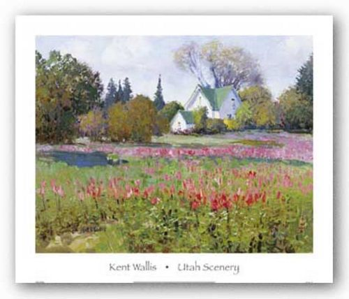 Utah Scenery by Kent Wallis