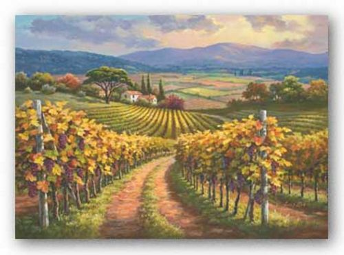 Vineyard Hill I by Sung Kim