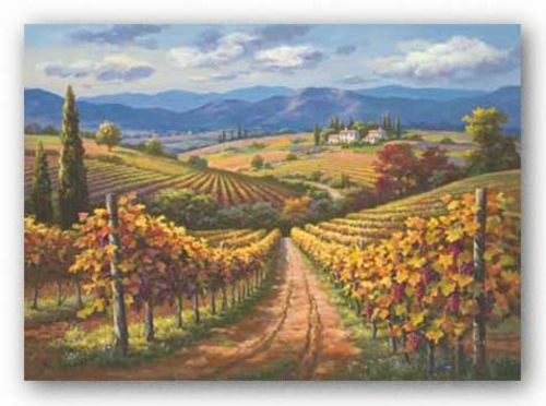 Vineyard Hill II by Sung Kim