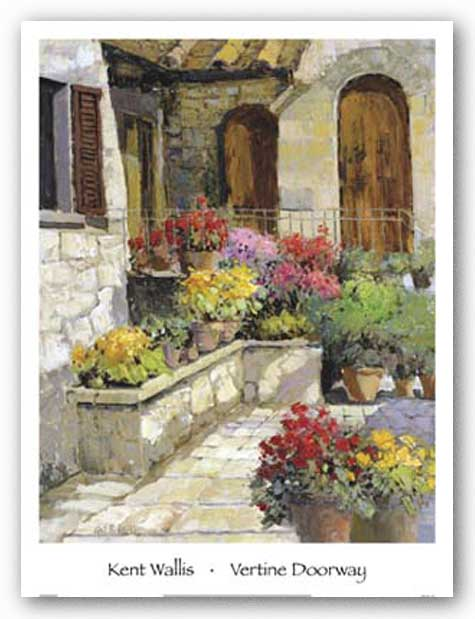 Vertine Doorway by Kent Wallis