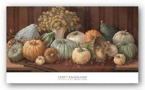Tuscany Harvest by Janet Kruskamp
