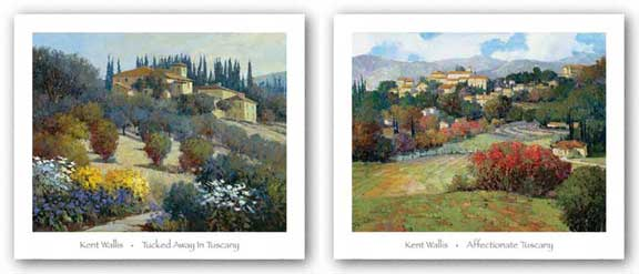 Affectionate Tuscany / Tucked Away Set by Kent Wallis