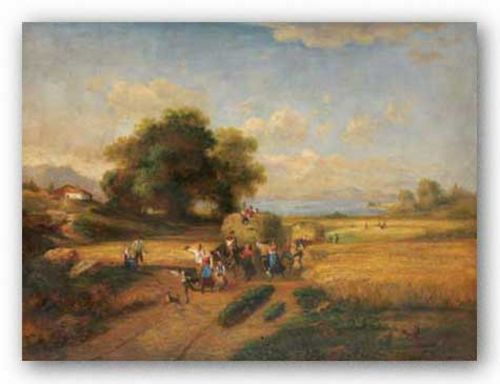 Harvest Celebration by A. Weller