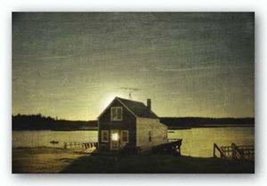 Cottage Silhouette by Doug Landreth