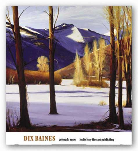 Colorado Snow by Dix Baines
