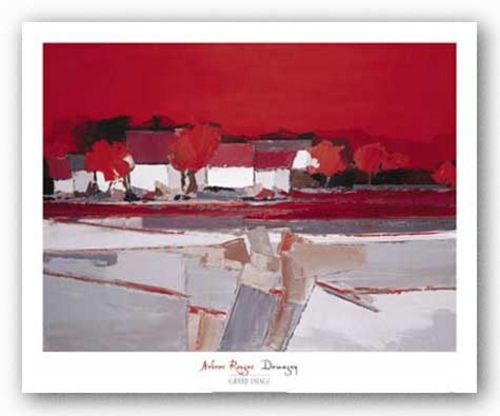 Arbres Rouges by Demagny