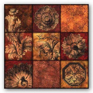 Baroque Rosette Patchwork by Studio Voltaire