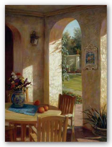 Arches and Oranges by Jan McLaughlin