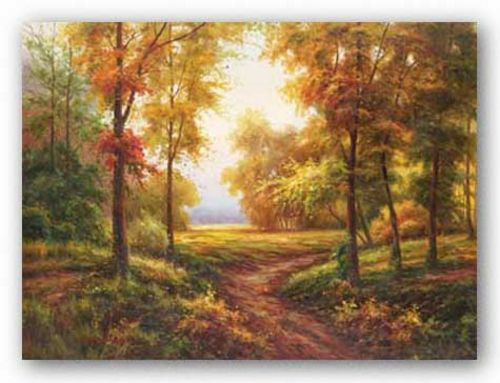 Early Autumn Path by Lazzara
