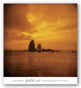 Haystack Rock by Doug Landreth
