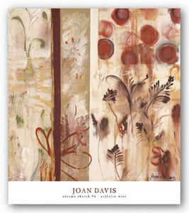 Autumn Sketch 6 by Joan Elan Davis