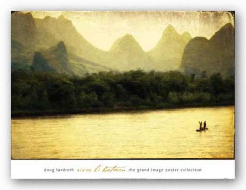 River Li Boatmen by Doug Landreth
