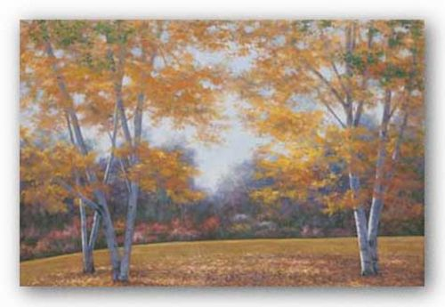 Autumn Birch by Diane Romanello