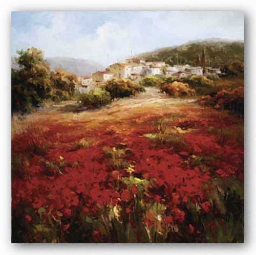Village Poppies by Marino