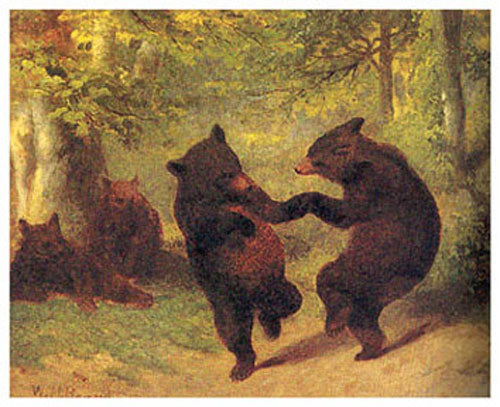 Dancing Bears  by William H. Beard