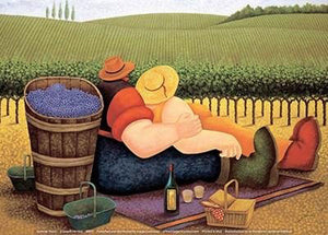 Summer Picnic by Lowell Herrero