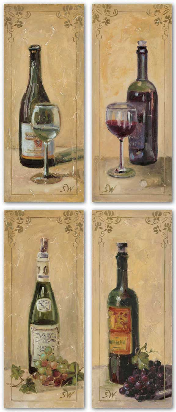 Wine Glass Set by Shari White