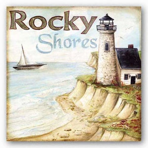 Rocky Shores by Kate McRostie