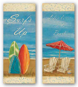 Life's Better At The Beach and Surf's Up Set by Grace Pullen