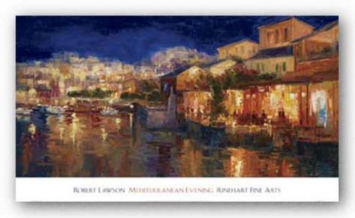 Mediterranean Evening by Robert Lawson