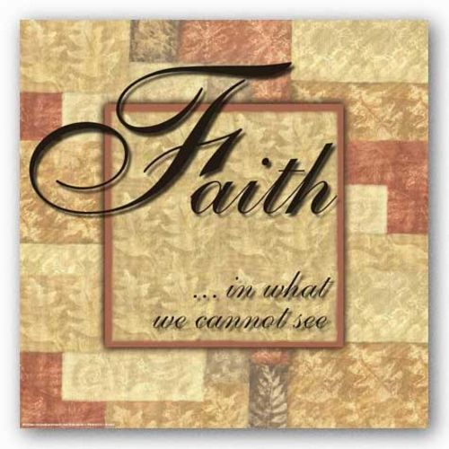 Words To Live By Butterscotch: Faith by Angela D'Amico