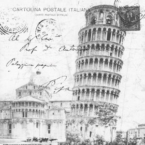Postcard from Piza by Carole Stevens