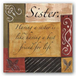 Words To Live By - Sister by Debbie Dewitt